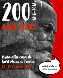 Visita alla casa di Karl Marx @ Treviri / Trier