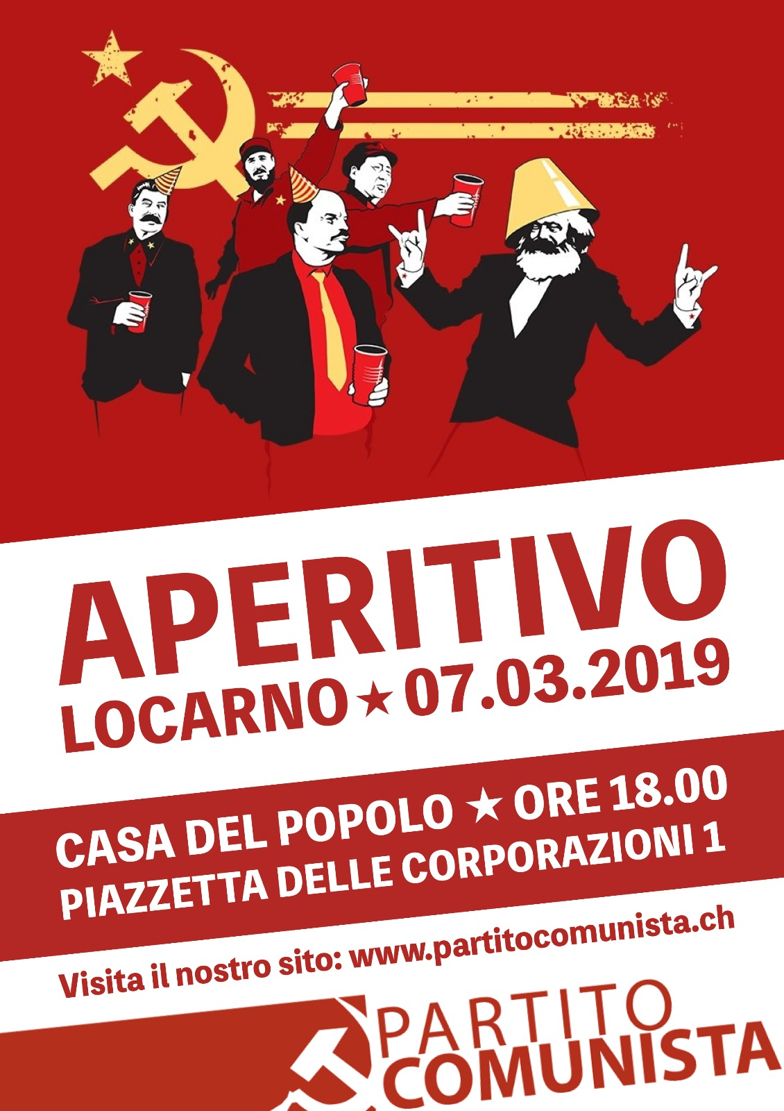 """Locarno: incontro con i candidati @ Ristorante """"Casa del Popolo"""""""