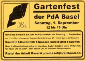 Festa del PdL Basilea @ Ristorante Torstübli