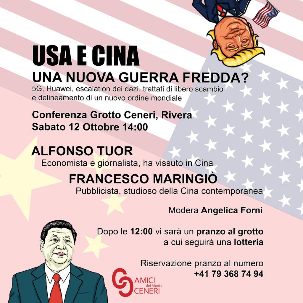 USA e Cina, una nuova guerra fredda? @ Grotto al Ceneri