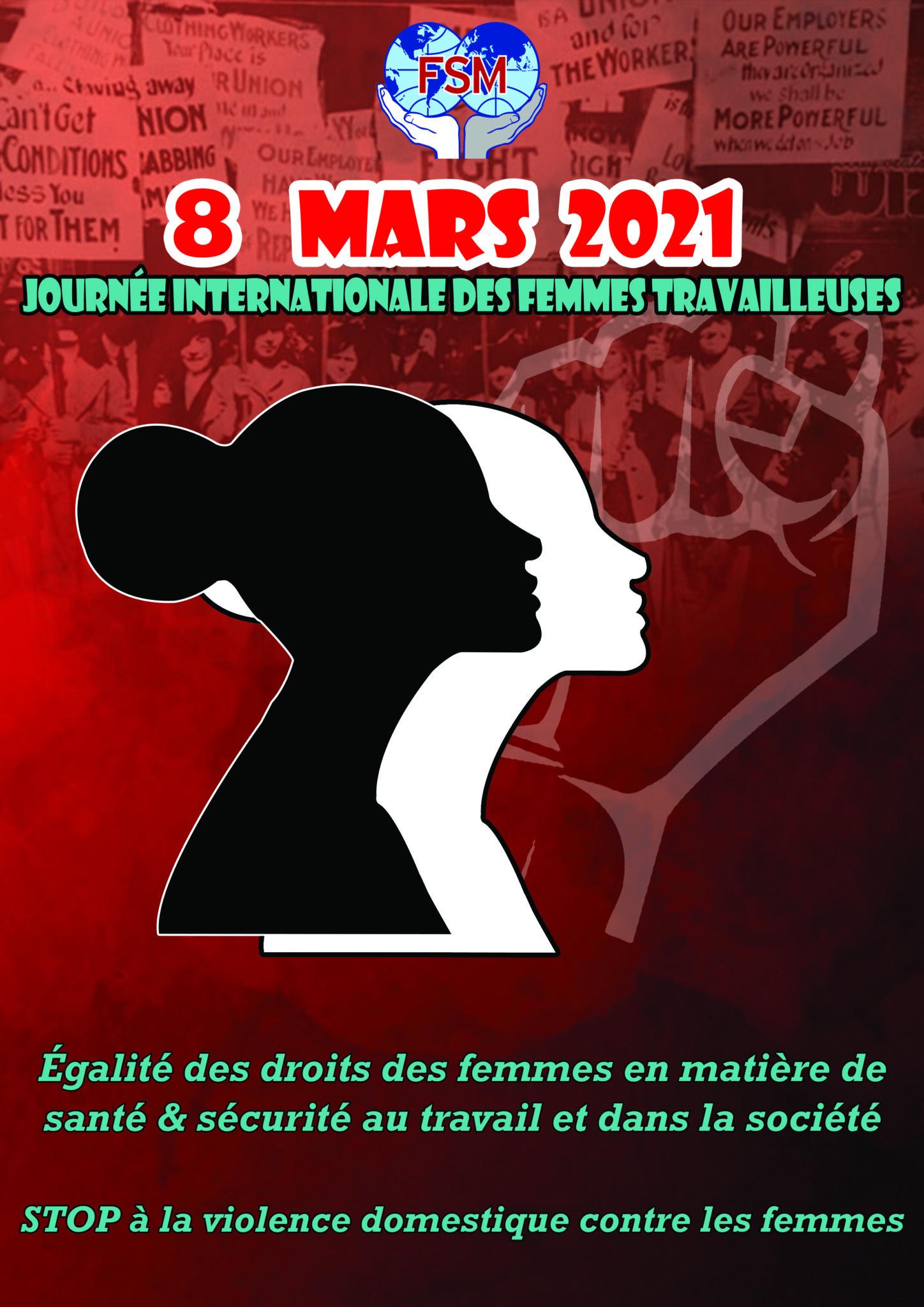 8 marzo - Giornata per i diritti delle lavoratrici