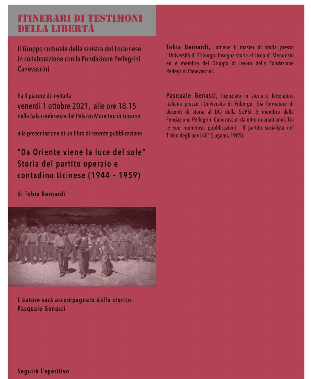 Conferenza sulla storia del POCT